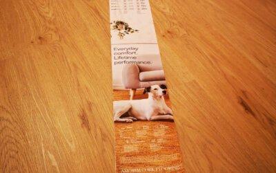 WICANDERS wood GO – Vinyl mit Korkschicht auf HDF-Trägerplatte