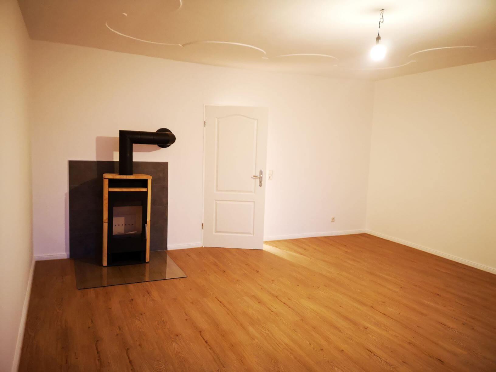 Wohnzimmer im neuen Glanz